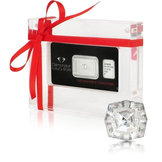 AMIN LUXURY 1.14 Carat Web Cut Diamond