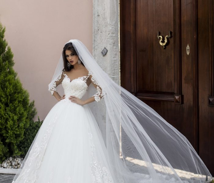 POLLARDI WEDDING DRESS – SALIHA