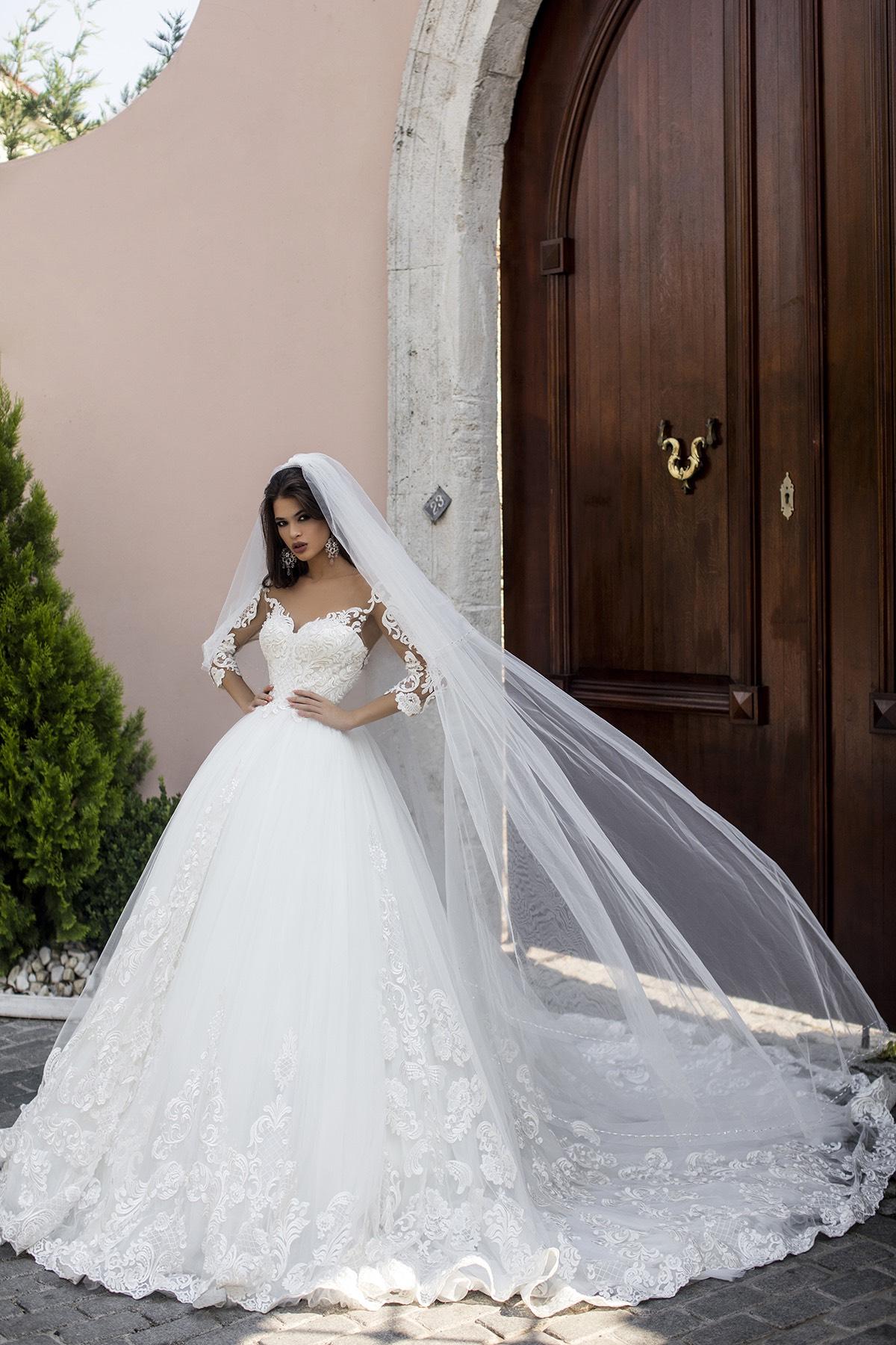 POLLARDI WEDDING DRESS – SALIHA