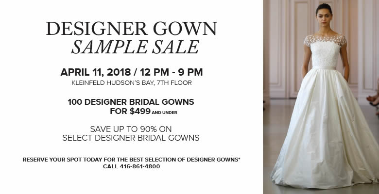 Designer Gown Sample Sale – MONDO BRIDAL – Wedding Ideas, Planning ...