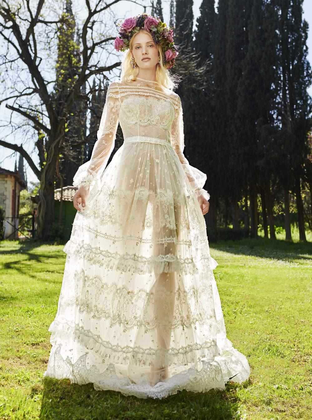 Mondo Bridal - COSTARELLOS BRIDAL SPRING 2019 - Romantic Gossamer Gown
