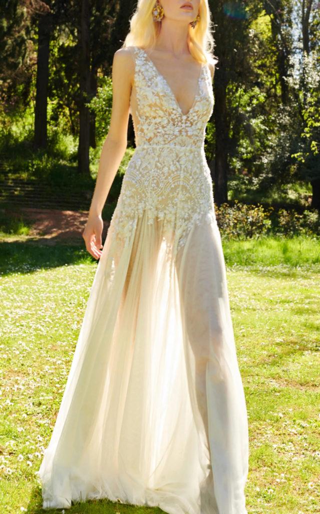 Mondo Bridal - Costarellos Bridal - Chantilly Lace Dress