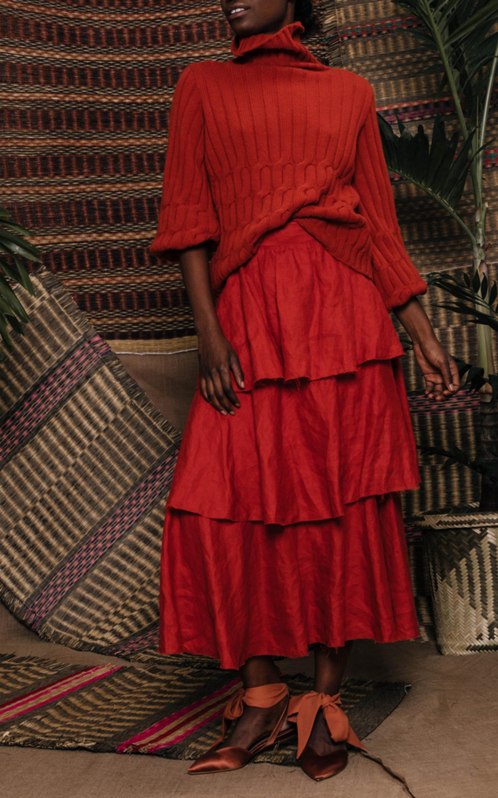 Mondo Bridal - Johanna Ortiz - Cuentos Del Caribe Sweater