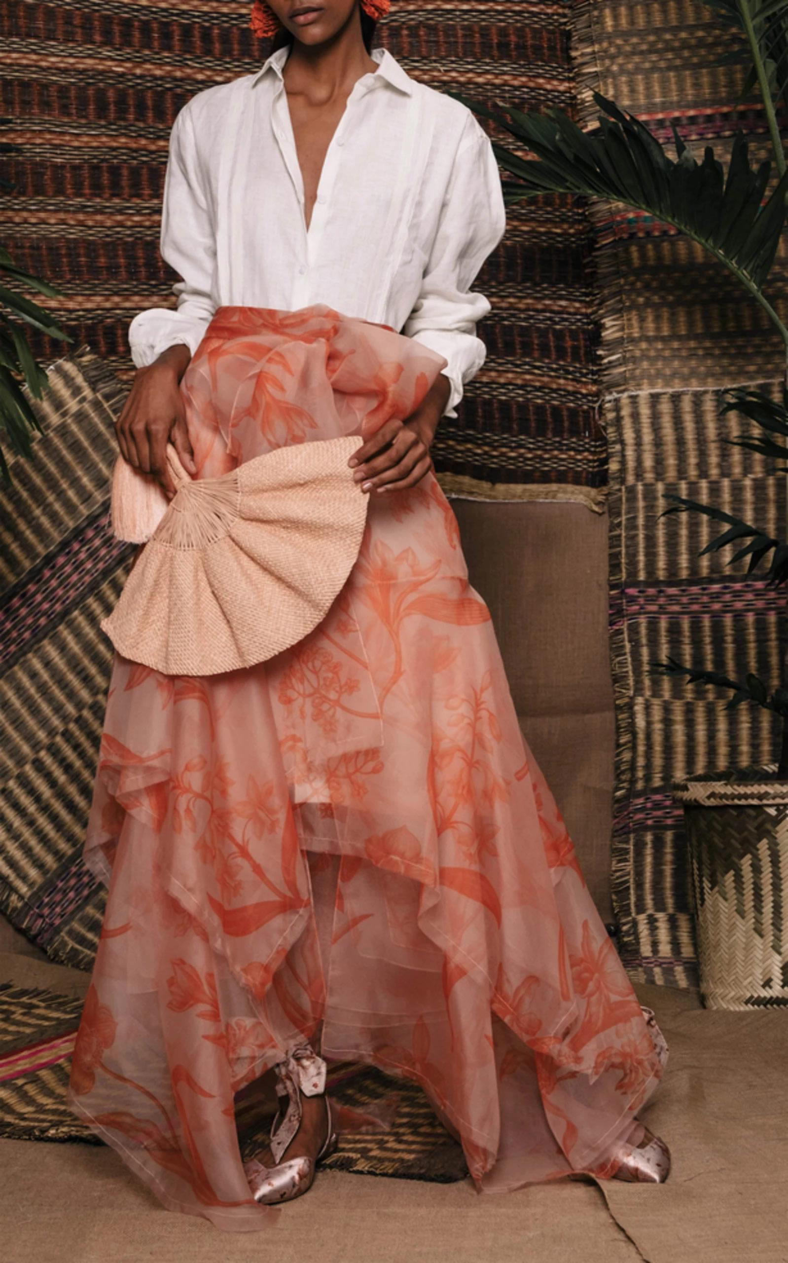 Mondo Bridal - Johanna Ortiz - Tahiti Linen Shirt