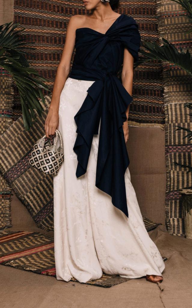 Mondo Bridal - Johanna Ortiz - The Art Of Dancing Cotton Poplin Top