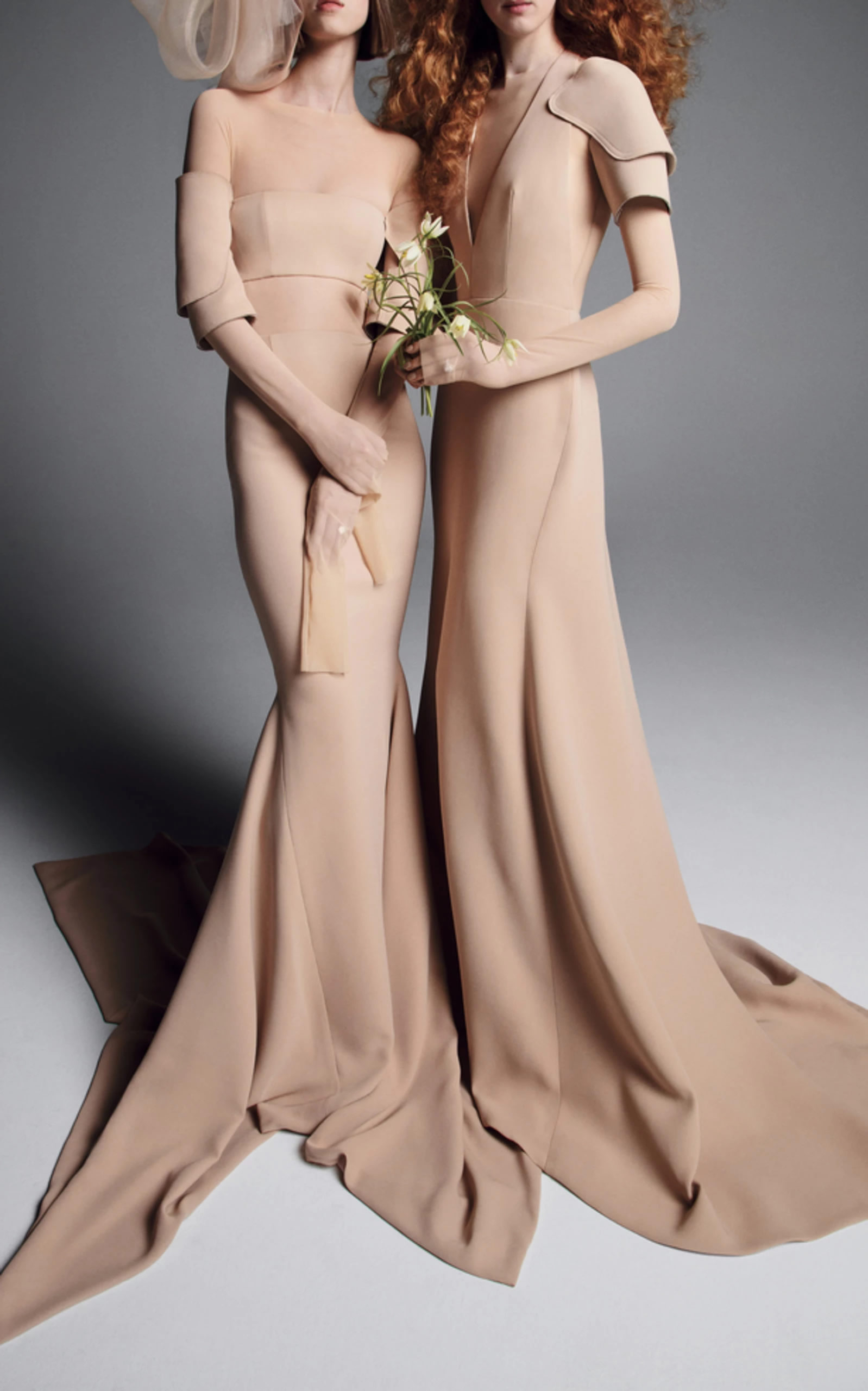 Mondo Bridal - Vera Wang - Yulia Mermaid Gown and the Oksana A-Line Gown