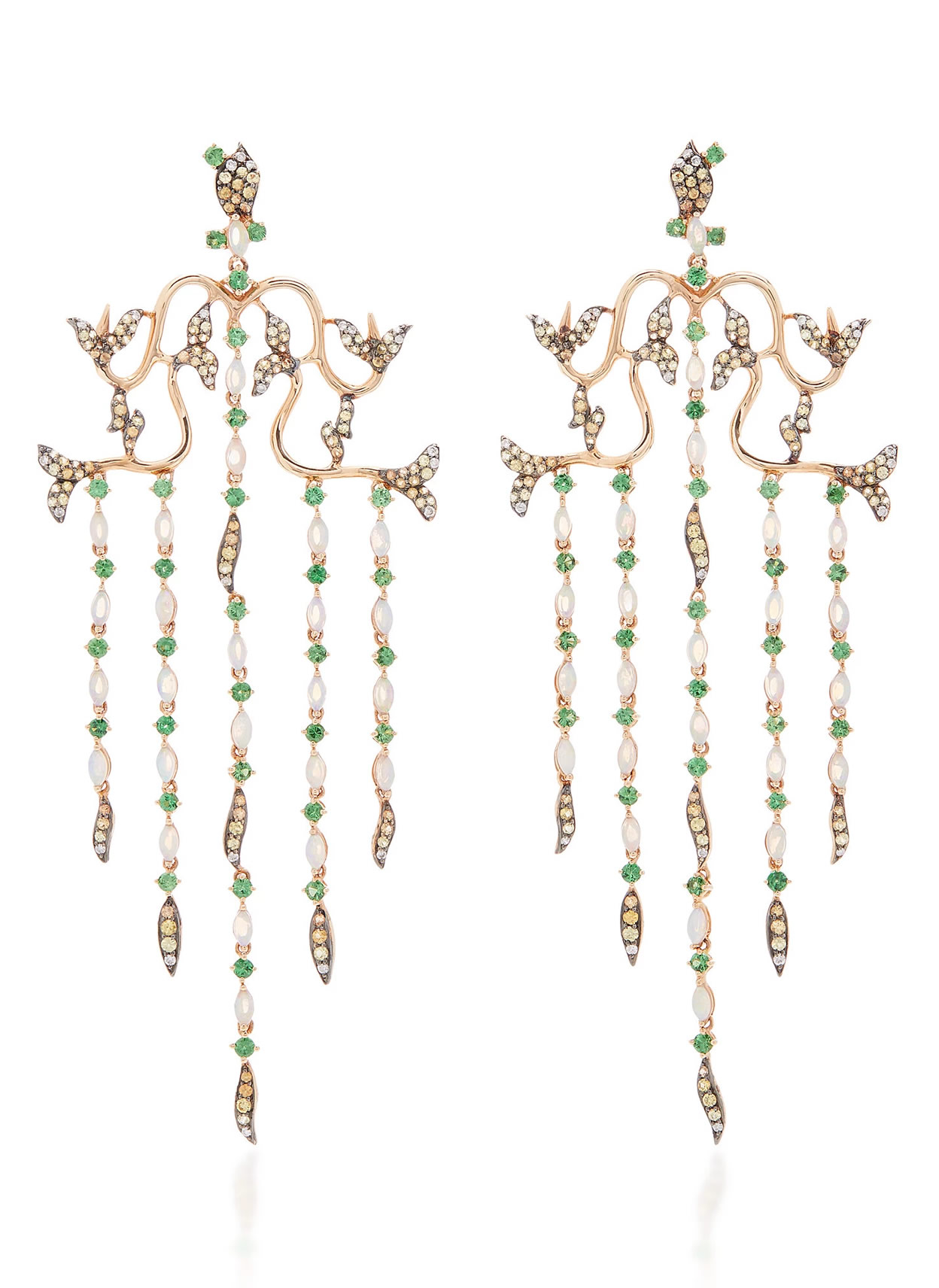 Mondo Bridal - Wendy Yue / Opal Waterfall Earrings