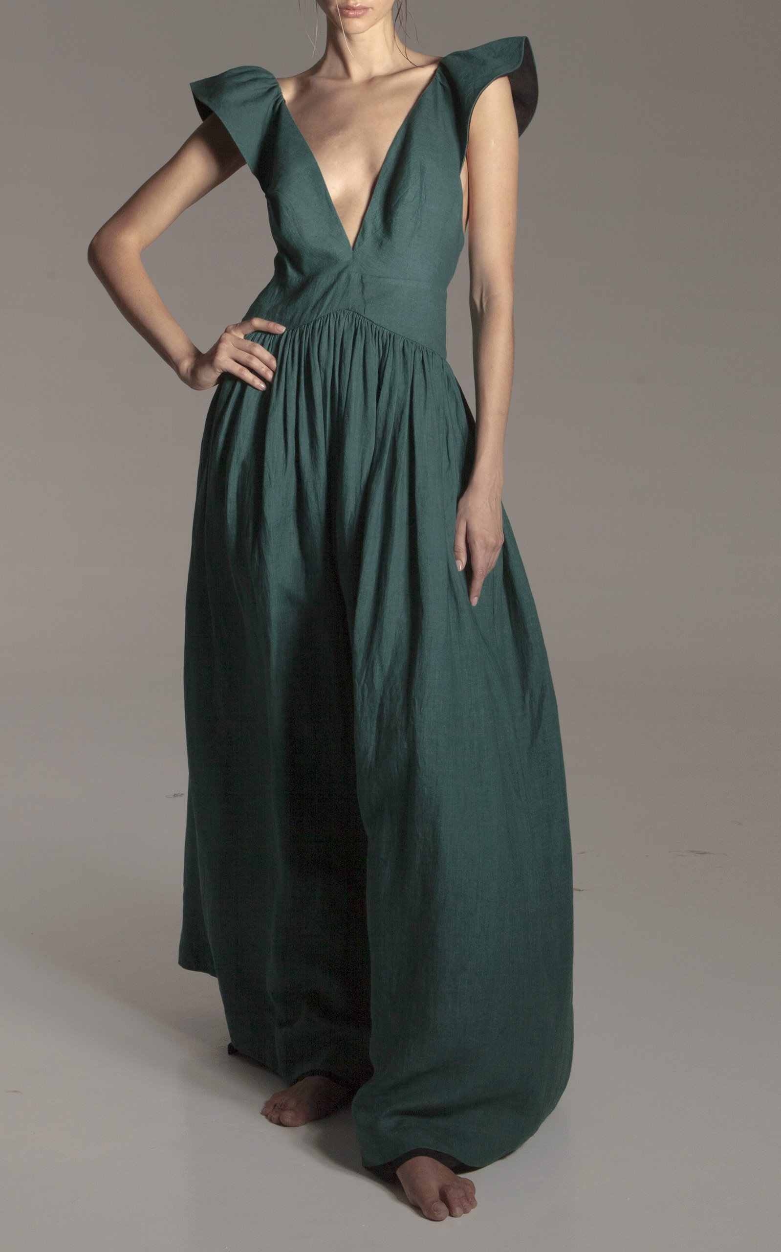 Kalita - Destination Wear - Persephone Linen Day Dress