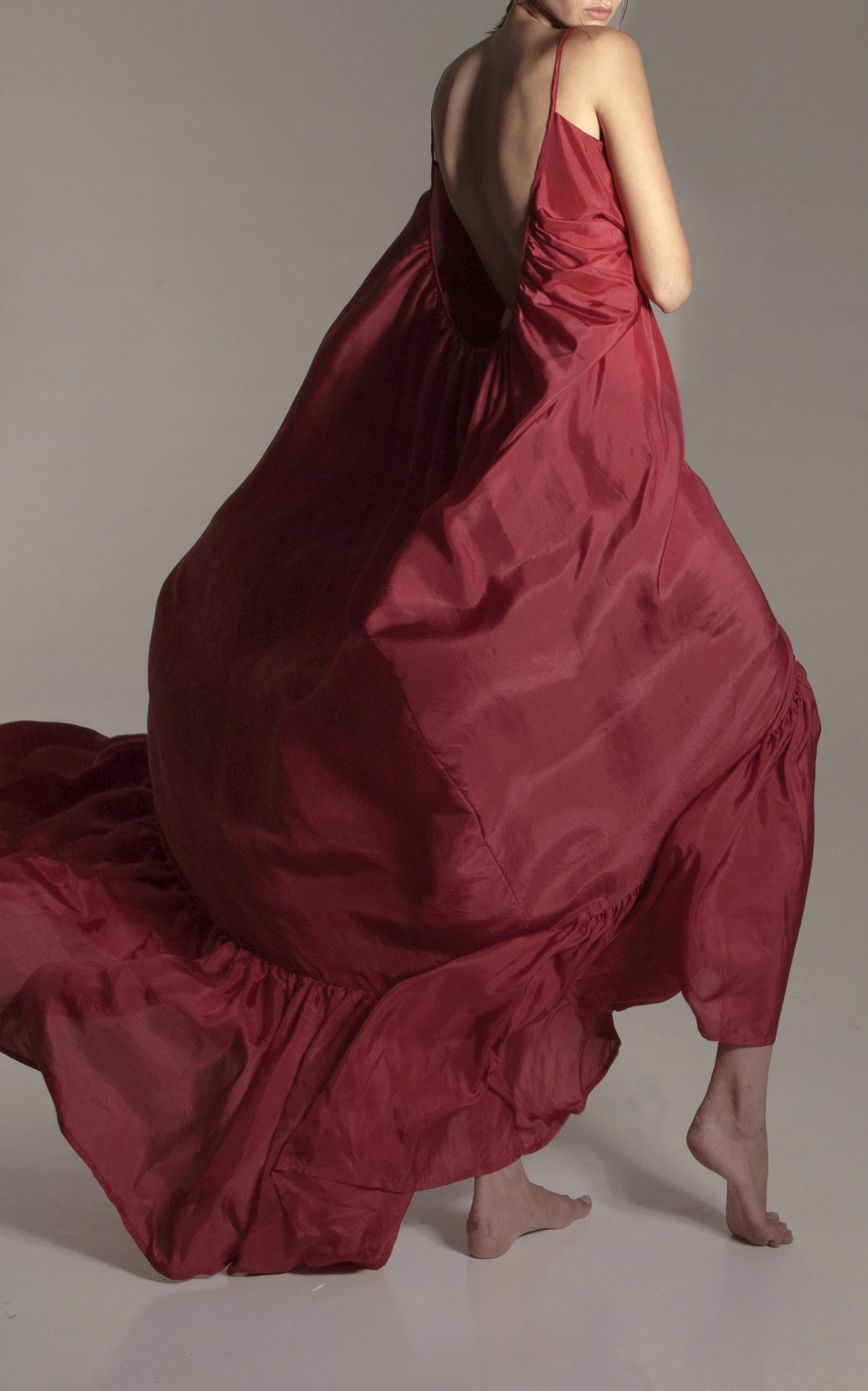 Kalita - Destination Wear - Red Brigette Maxi Dress