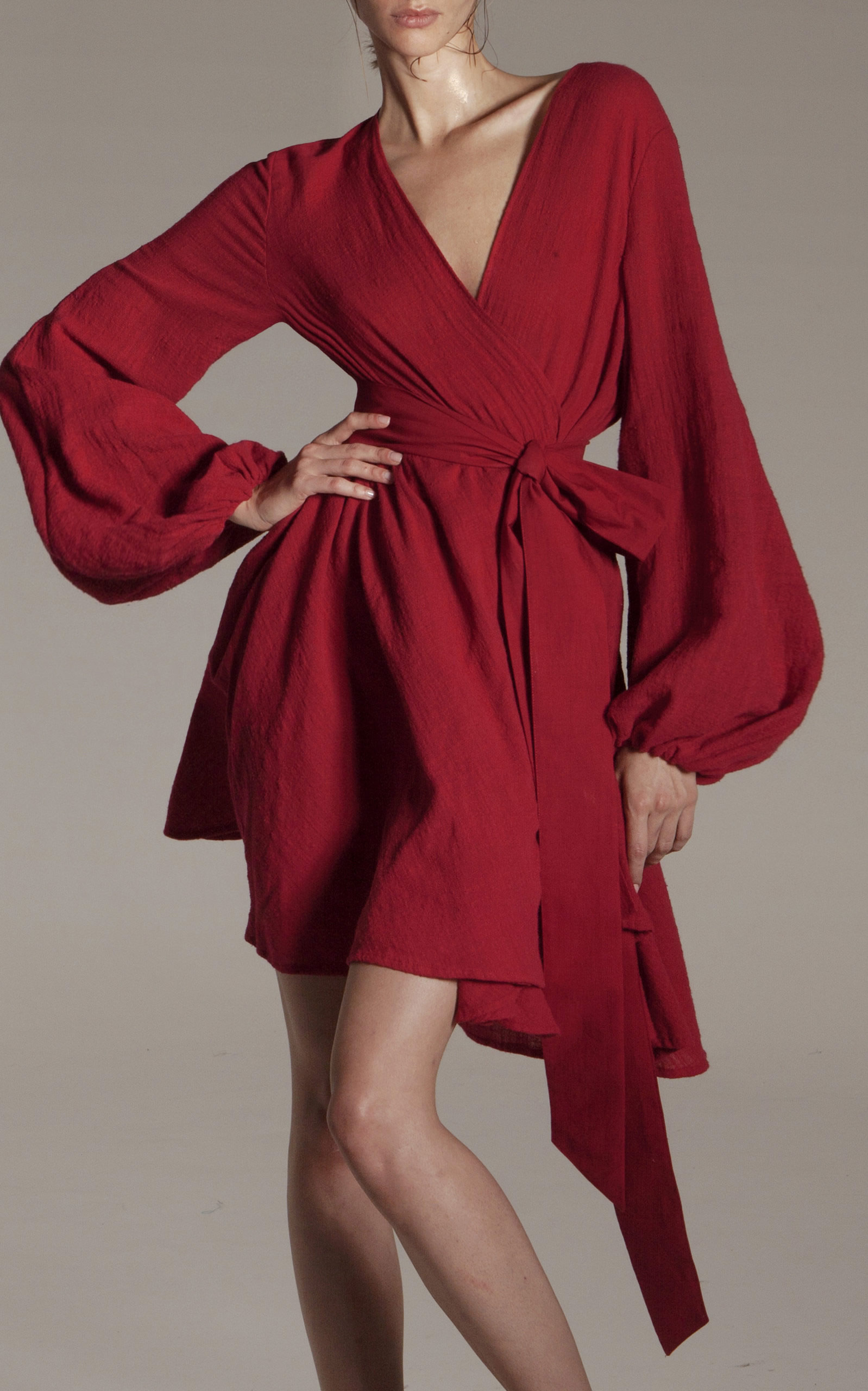 Kalita - Destination Wear - Red Gaia Beach Wrap Tunic
