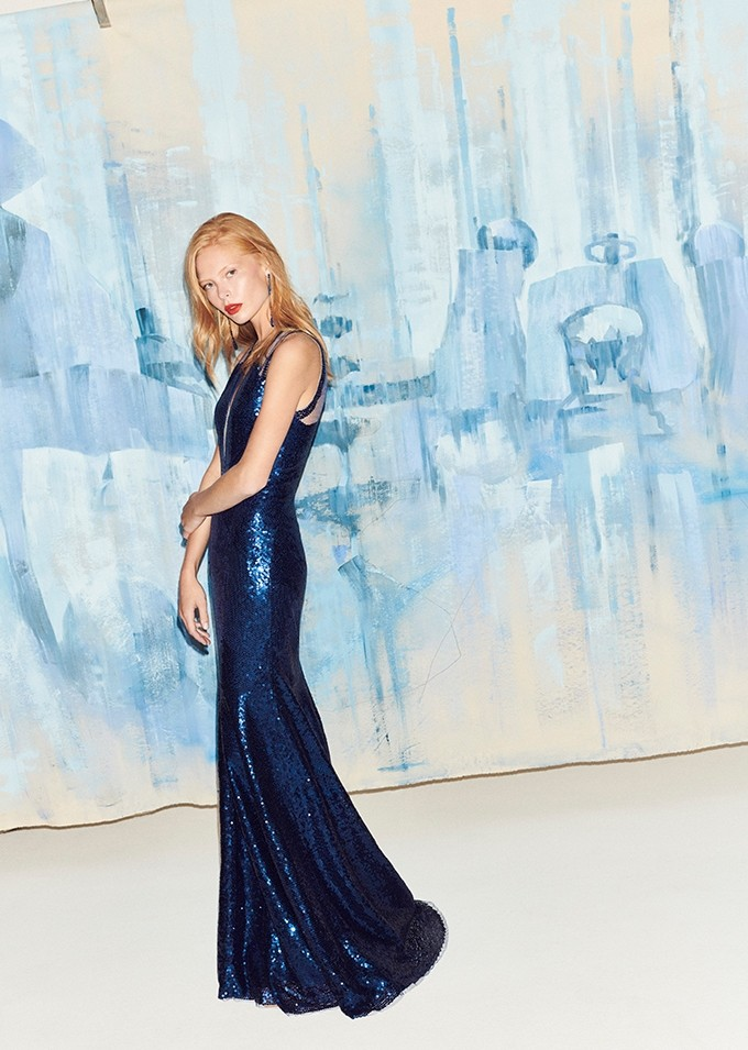 Mondo Bridal - Jenny Packham - RTW SS2019 - Gloria (LLD142L) Midnight Blue