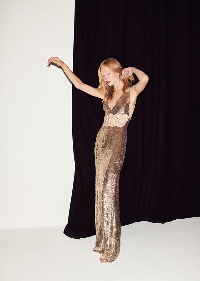 Mondo Bridal - Jenny Packham - RTW SS2019 - Loretta (LLD145L) Gold