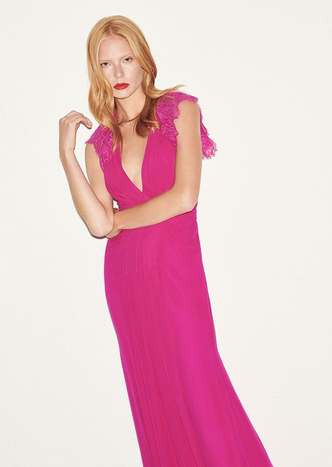 Mondo Bridal - Jenny Packham - RTW SS2019 - Claudette (LLD156L) Cerise Pink