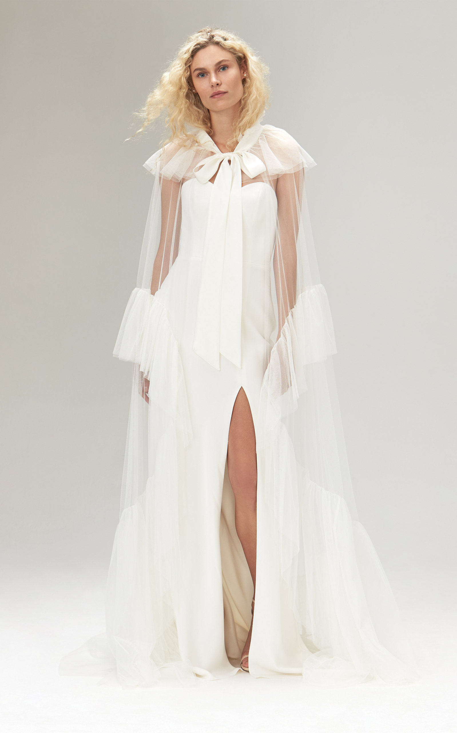 Savannah Miller - Gloria Dramatic Tulle Opera Cape