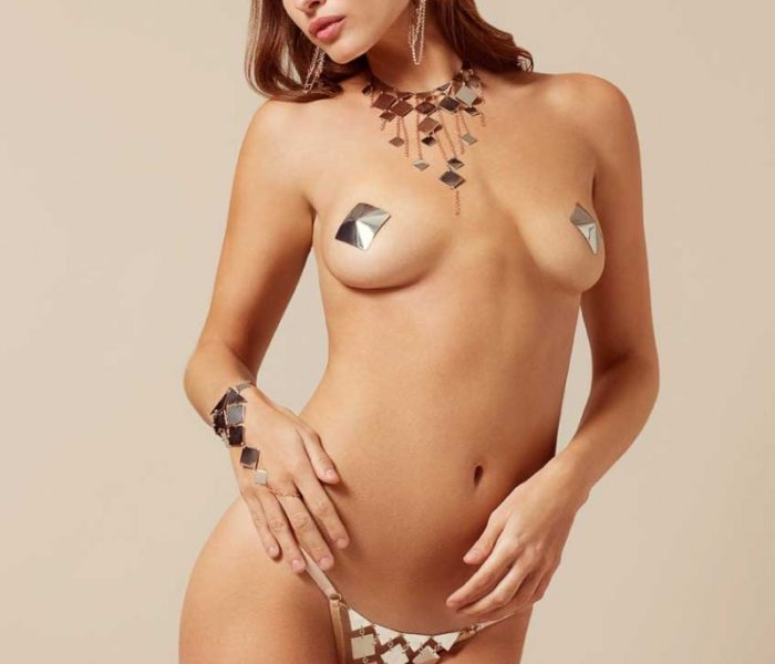 Adora Pasties Silver by Agent Provocateur