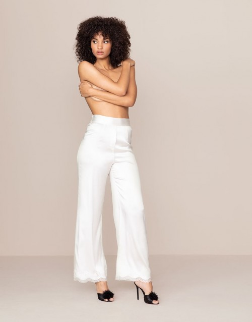Agent Provocateur - Amelea Pyjama Bottom Ivory