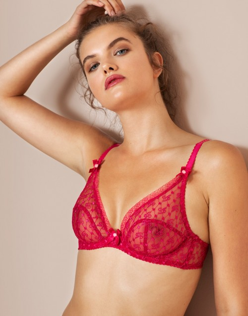 Dorotia High Apex Underwired Bra
