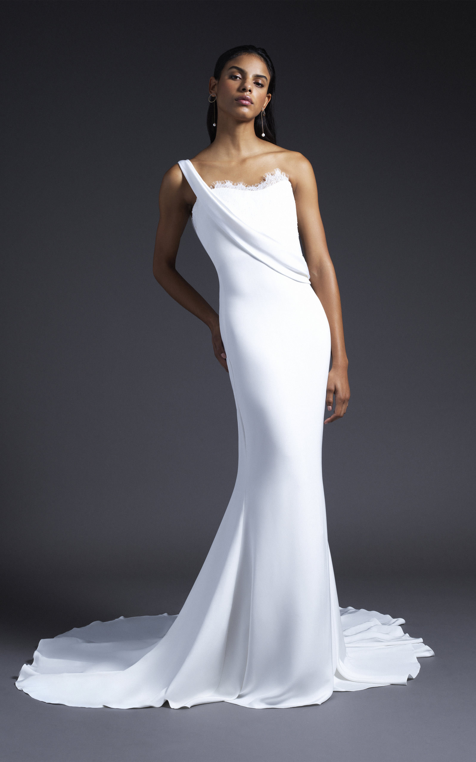 Cushnie Bridal - Georgia One Shoulder Gown