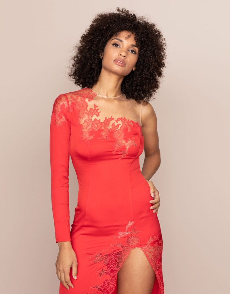 The Serayah Dress In Red