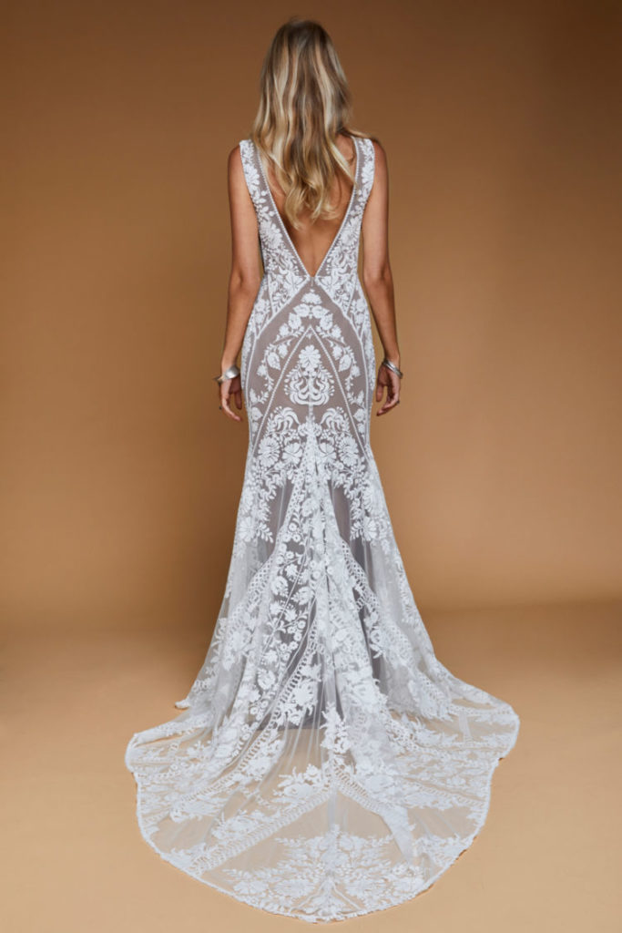 Jackson Gown - Nude from the Moonrise Canyon Collection