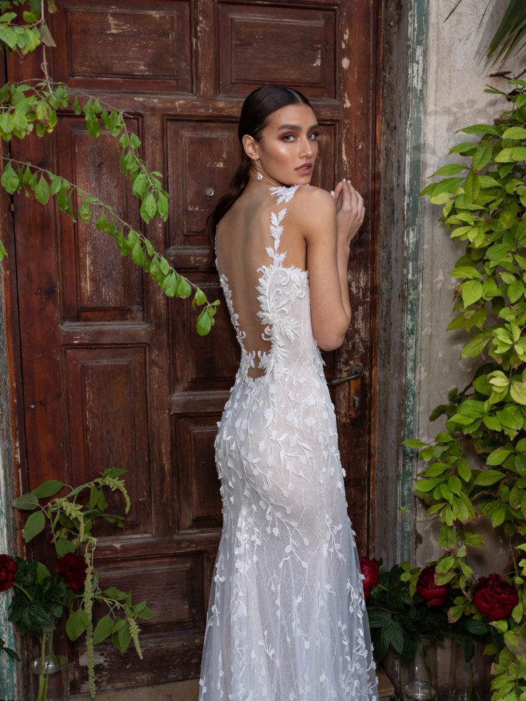 Lian Rokman - Passionflower Gown from the Blooming Paradise Collection