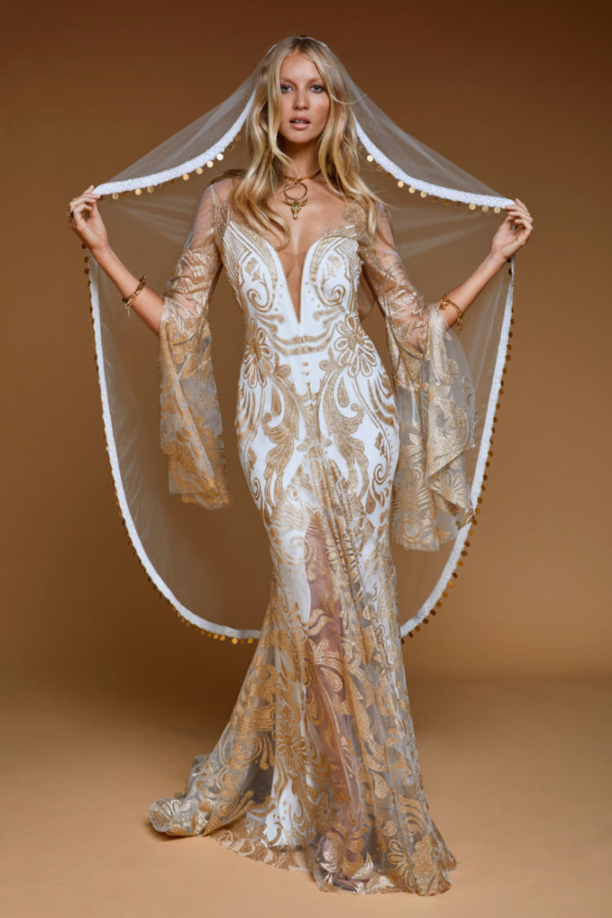 Rue de Seine - Dolly Gown from the Moonrise Canyon Collection