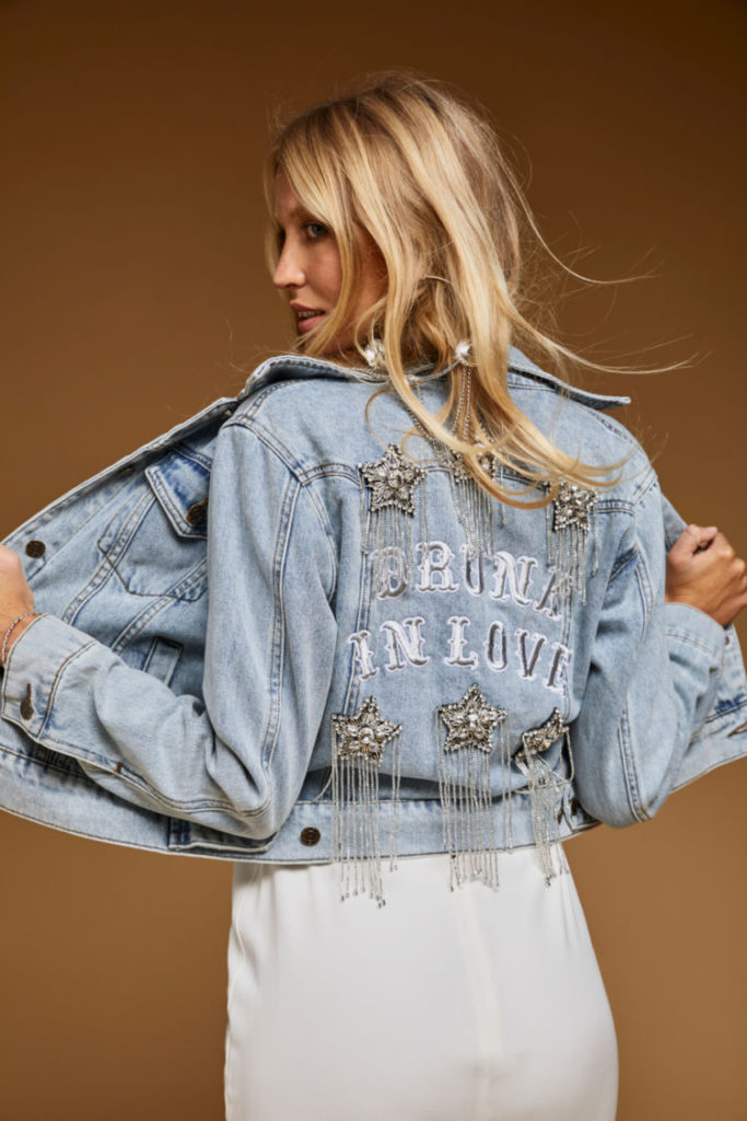 Rue de Seine - Drunk in Love Jacket from the Rue Denim Collection
