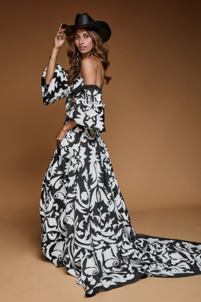 Rue de Seine - Hayden Gown - Midnight from the Moonrise Canyon Collection
