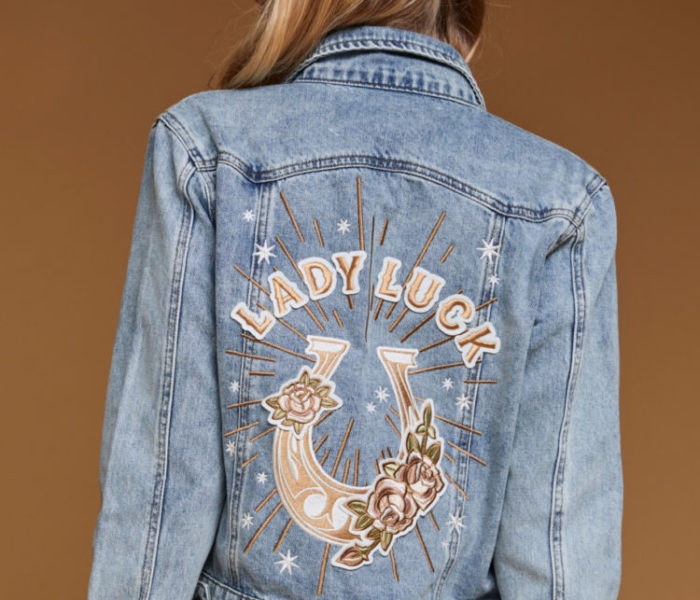 Rue de Seine - Lady Luck Jacket from the Rue Denim Collection