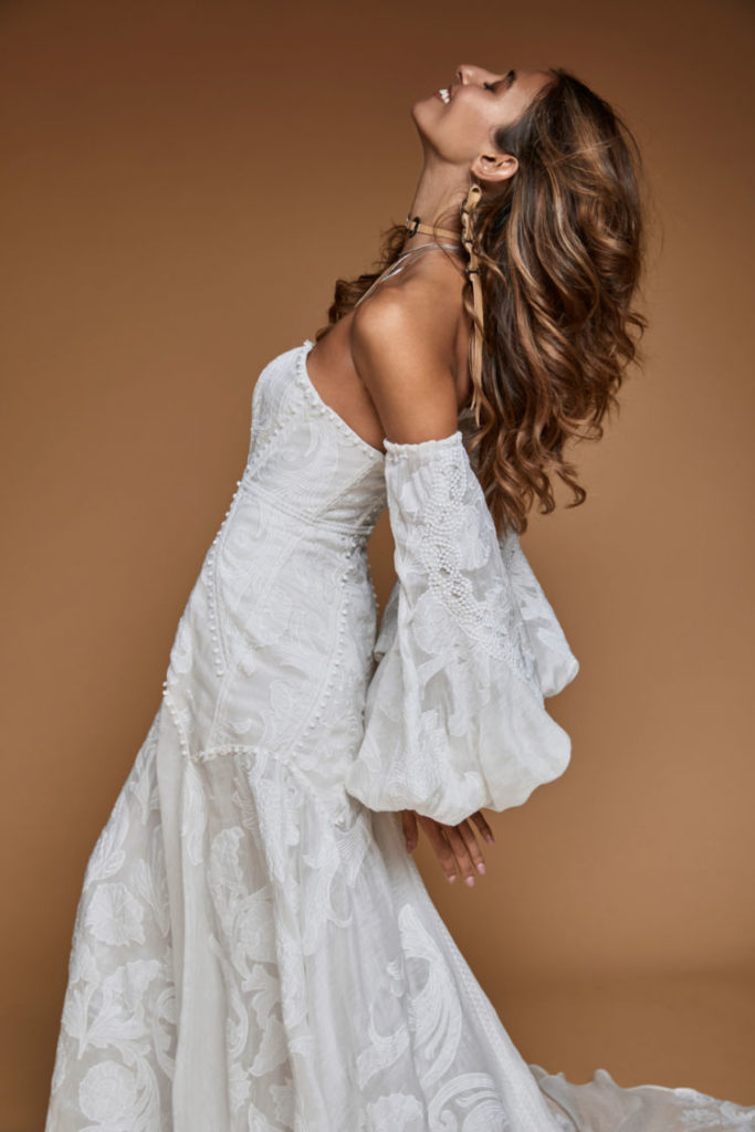 Rue de Seine - Oakley Gown from the Moonrise Canyon Collection