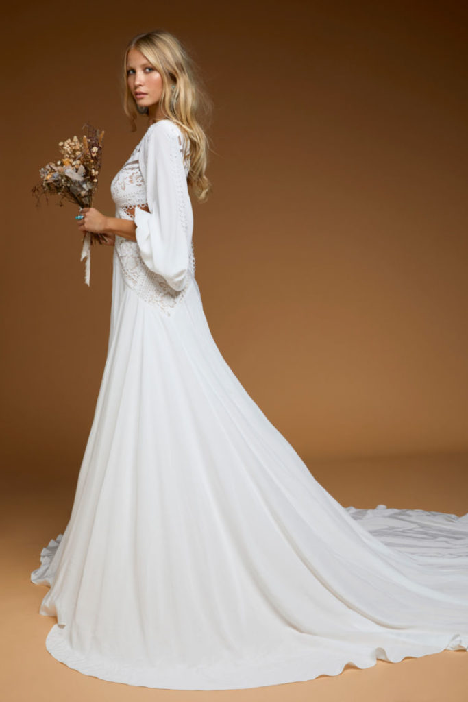 Rue de Seine - Presley Gown from the Moonrise Canyon Collection