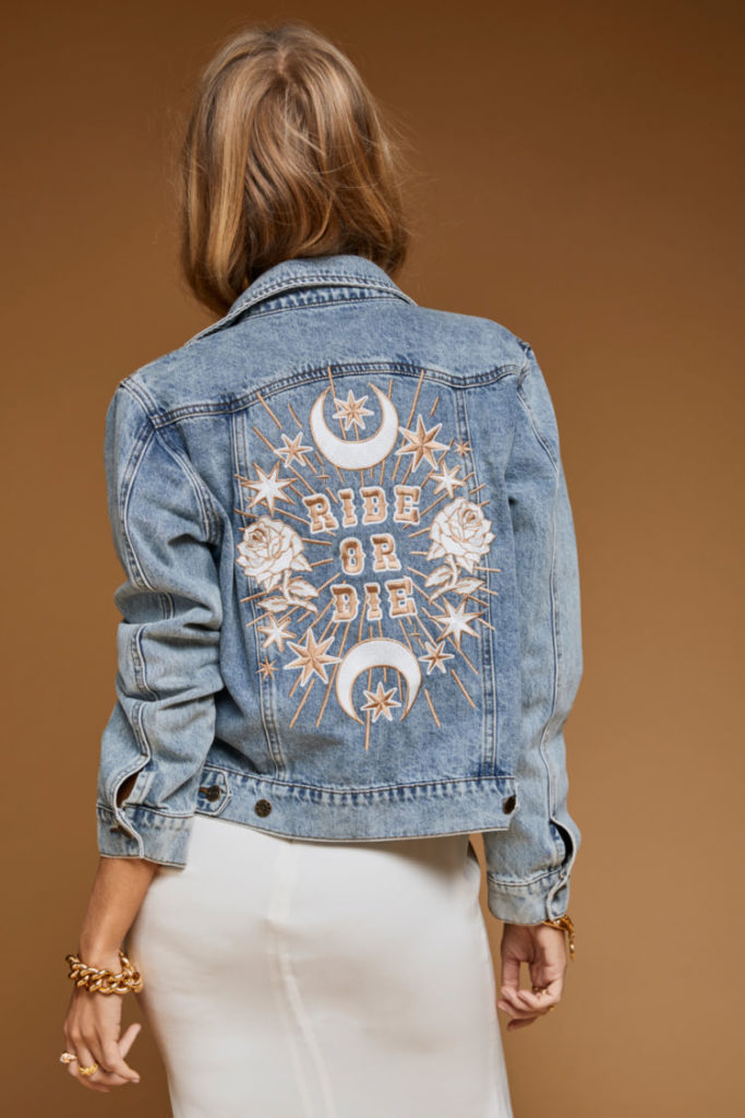 Rue de Seine - Ride or Die Jacket from the Rue Denim Collection