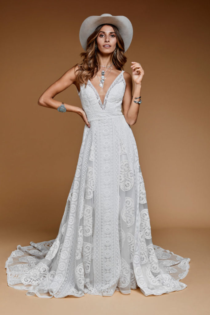 Rue de Seine - Sedona Gown from the Moonrise Canyon Collection