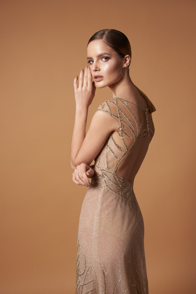 EVENING WEAR FROM THE MELODY COLLECTION - CHA CHA
