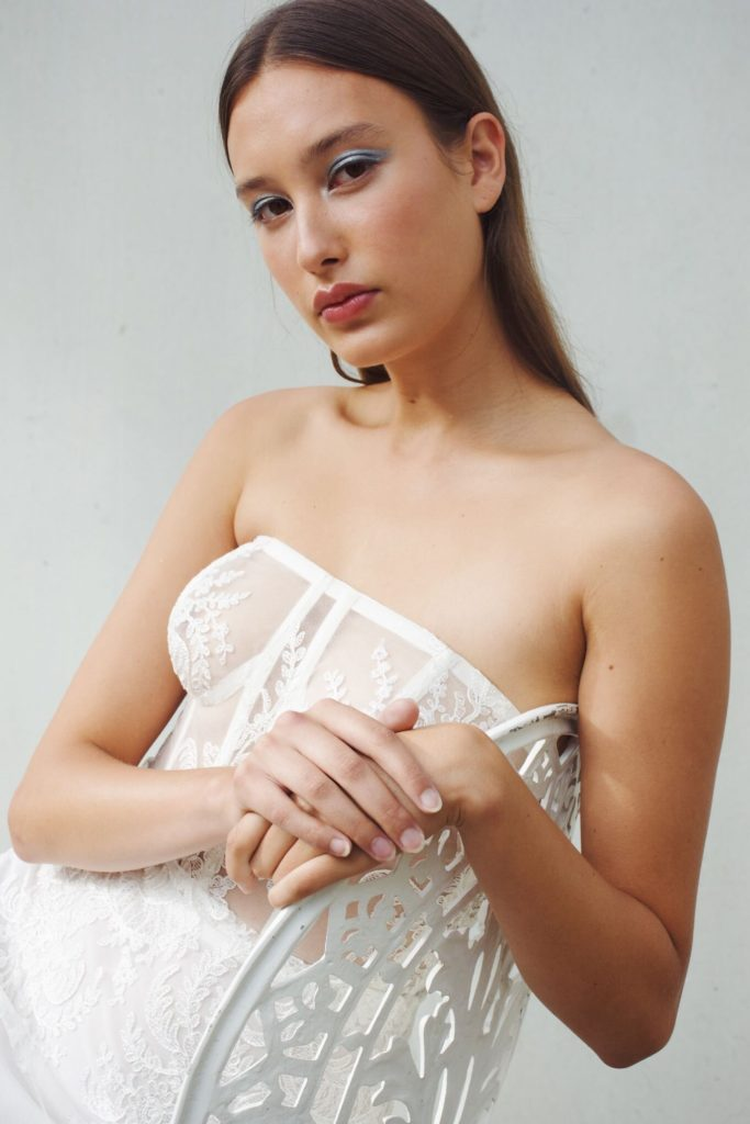 Ritual Unions - BLOW 2020 - The Nightcall Dress in White