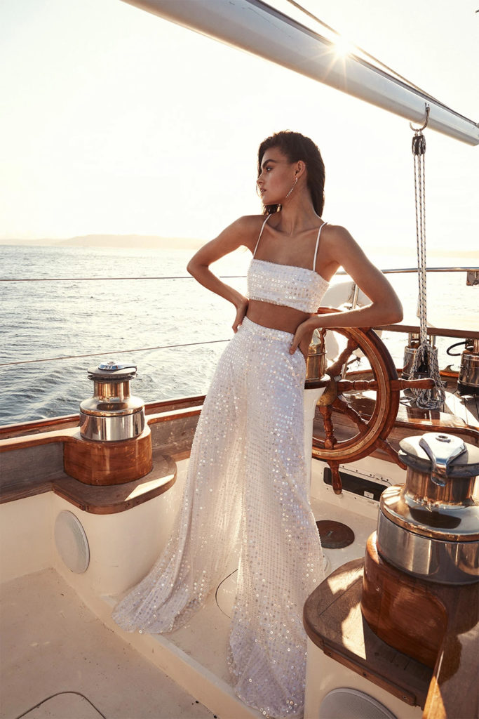 One Day Bridal - Miami top and Miami pant