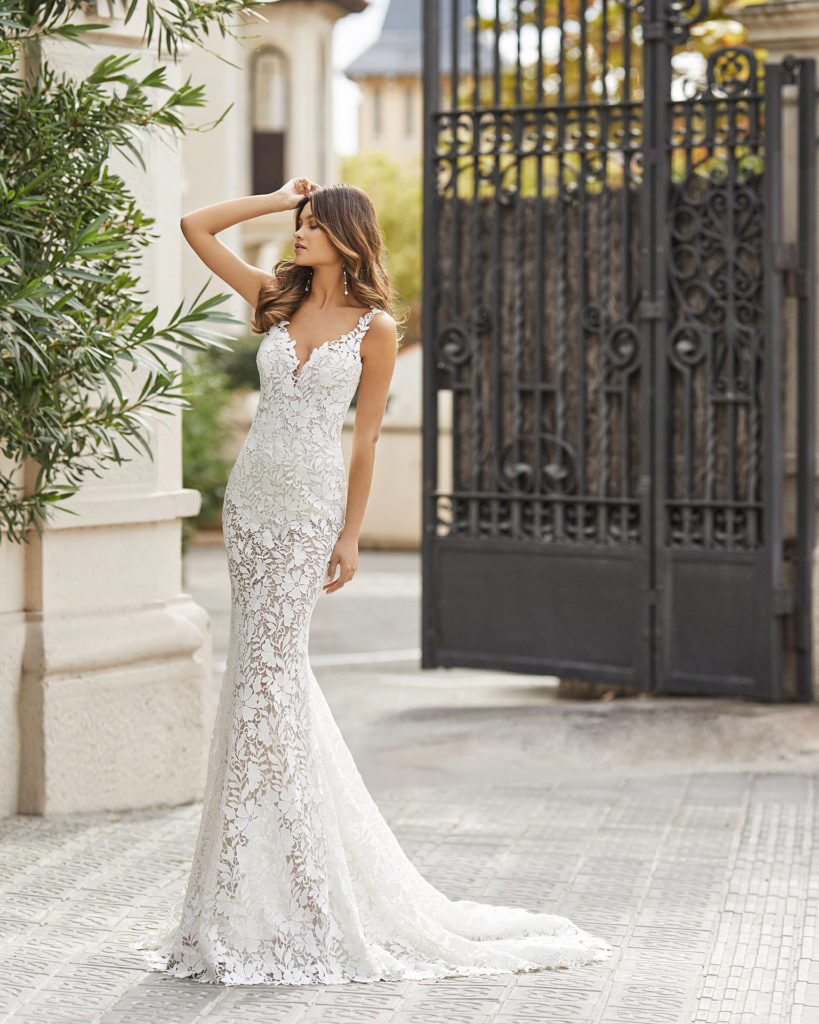 Rosa Clará Couture Wedding Dresses 2021 - Teana