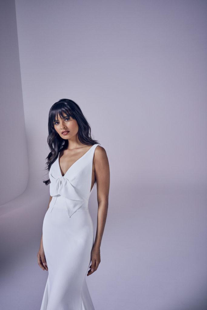 Suzanne Neville - Cailey Crop Wedding Dress - Modern Love Collection 2021