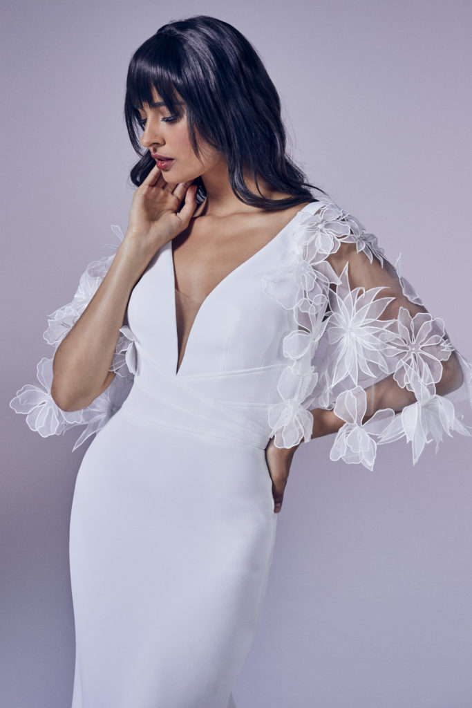 Suzanne Neville - Delight Crop Wedding Dress - Modern Love Collection 2021