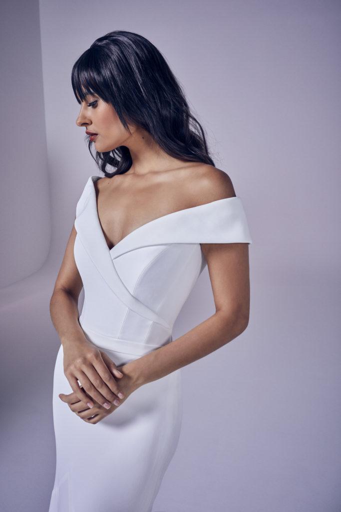 Suzanne Neville - Forever Crop Wedding Dress - Modern Love Collection 2021