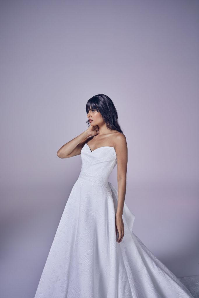 Suzanne Neville - Operetta Crop Wedding Dress - Modern Love Collection 2021