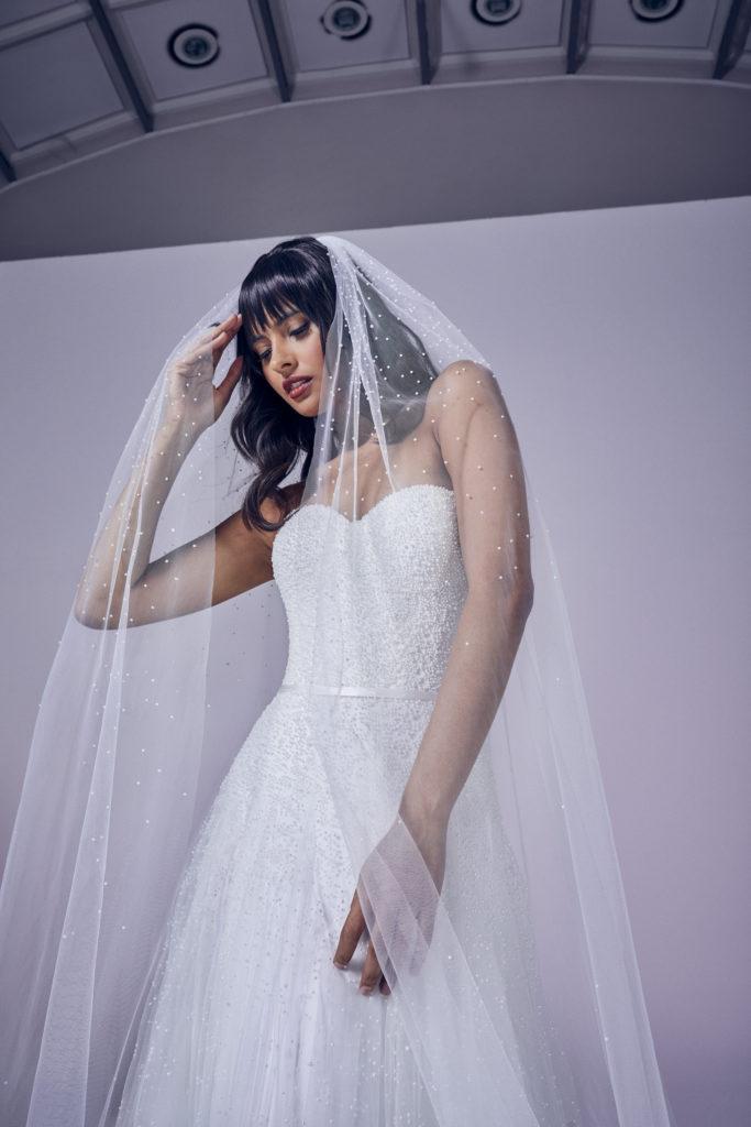Suzanne Neville - Precious Crop Wedding Dress - Modern Love Collection 2021