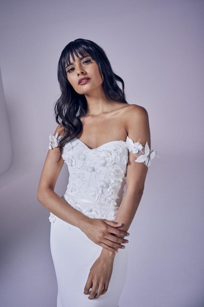Suzanne Neville - Romance Crop Wedding Dress - Modern Love Collection 2021