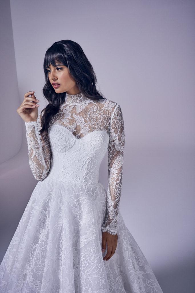 Suzanne Neville - Solasta Jacket Wedding Dress - Modern Love Collection 2021