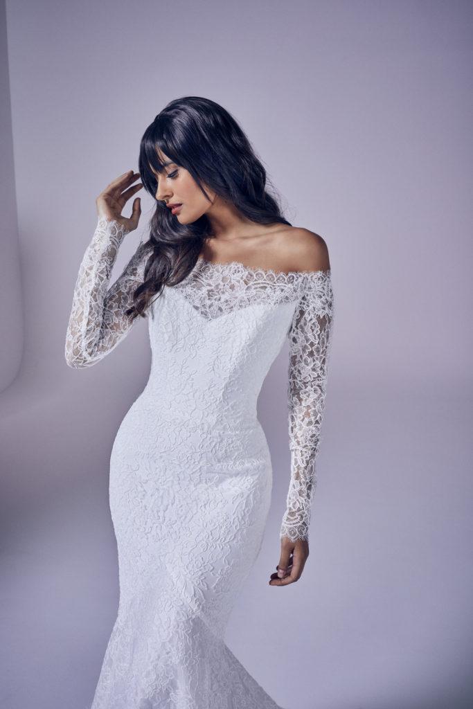 Suzanne Neville - Valentine Crop Wedding Dress - Modern Love Collection 2021