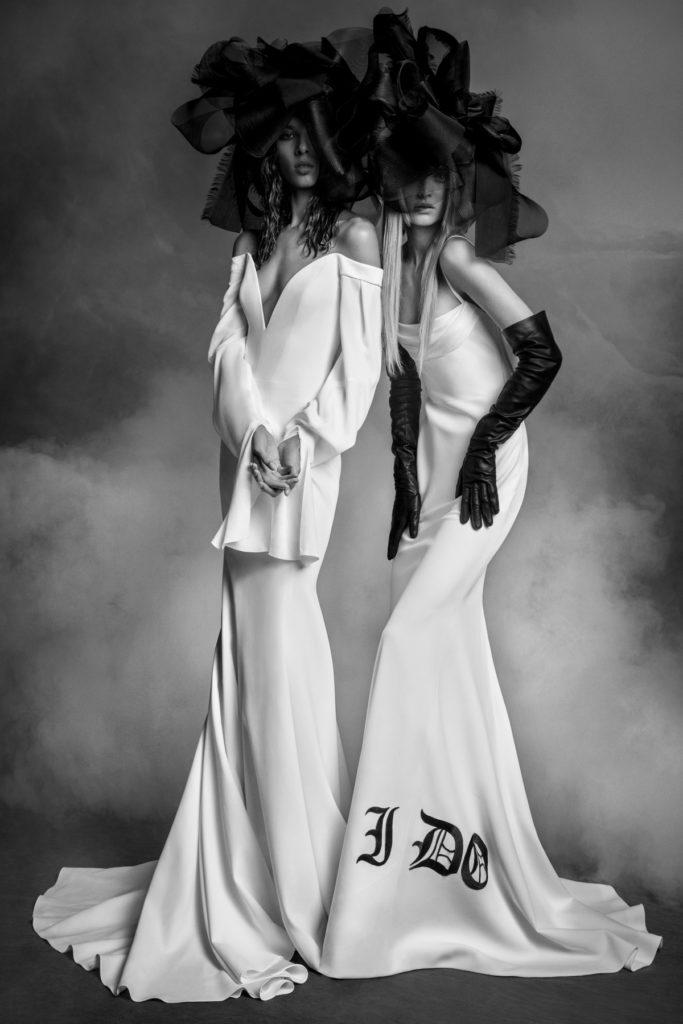 Vera Wang Bridal Fall 2020 - Frances and Martha