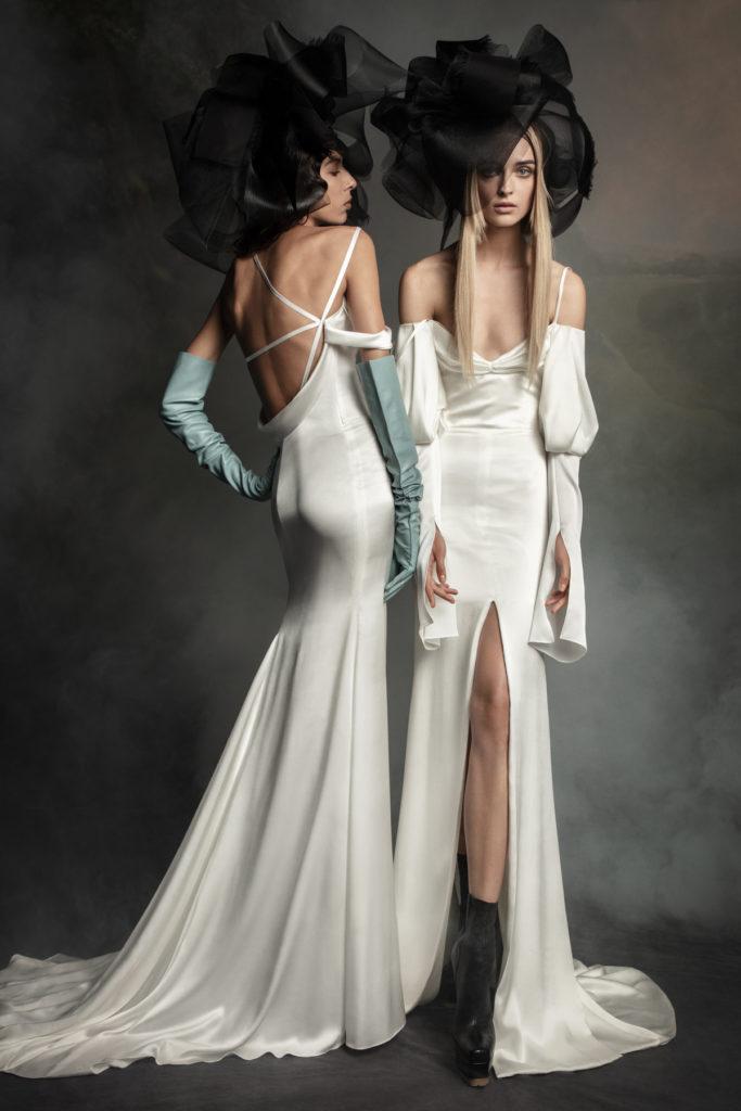 Vera Wang Bridal Fall 2020 - Hailey and Jane
