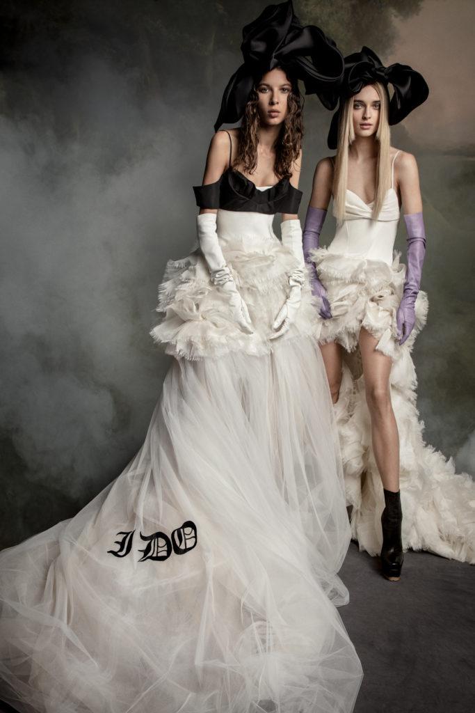 Vera Wang Bridal Fall 2020 - Mia and Patricia