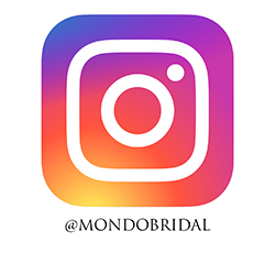 Follow @mondobridal on instagram