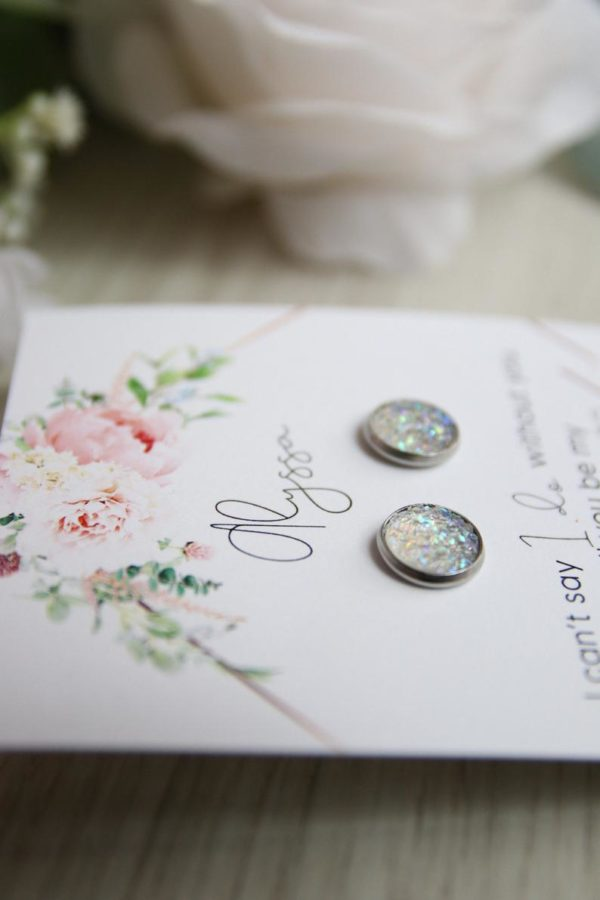 Bridesmaid Proposal Earrings